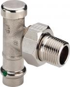 Увеличить Viega Profipress SC-Contur вентиль обратный радиаторный угловой 2272.1