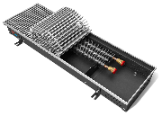 Внутрипольные конвекторы Techno Usual глубина 120 мм ширина 420 мм