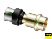 Переходник с м/п на сталь, бронза,Viega Smartpress (6713P)