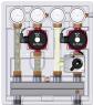 Насосно-смесительный модуль Meibes Kombimix 2 UK UPSO 15-65 (МЕ26103.40)