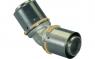 Угольник 45° латунный Uponor S-Press