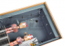 Внутрипольные конвекторы Techno WD глубина 105 мм ширина 420 мм