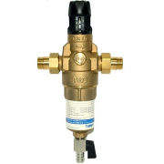 Фильтр для горячей воды с прямой промывкой и редуктором давления Protector mini H/R HWS, BWT