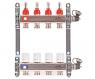 Коллекторная группа с расходамерами и термостатическими  вентилями Uni-fitt