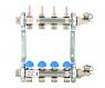 Коллекторная группа с расходамерами и термостатическими  вентилями Uni-fitt 315S