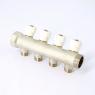 Коллектор нв с вентилями никелированный (под плоскую присадку) Uni-fitt