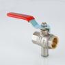 Кран шаровой для подключения датчика температуры VALTEC VT.247