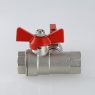 Кран шаровой с обратным клапаном и дренажом VALTEC VT.248