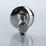 Бытовой шаровой кран угловой с фильтром VALTEC VT.282