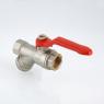 Кран шаровой VALTEC COMBI со встроенным фильтром VT.292