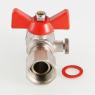 Кран шаровой для подключения манометра VALTEC VT.807