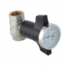 Кран шаровой c термометром VALTEC VT.808