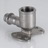 Фитинг Valtec из нерж. стали – пресс-водорозетка