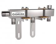 Распределительный коллектор DMSS, с креплениями, Gidruss