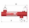 Консоль настенного монтажа Flexconsole R для баков Flexcon R 8-25 л, Flamco