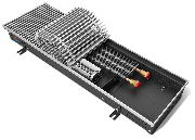 Внутрипольные конвекторы Techno Vent глубина 140 мм ширина 420 мм