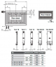 Радиатор Kermi FKV тип 33 высота 400 мм